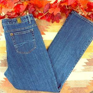 Aura short rise petite jeans size 14!